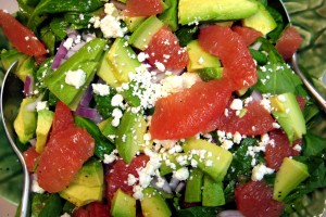 Avacado Grapefruit Salad