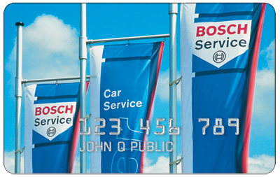 Bosch© Service Credit Card